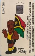 VANUATU  -  Phonecard  -  Sport - Tam  -  150 Units - Vanuatu