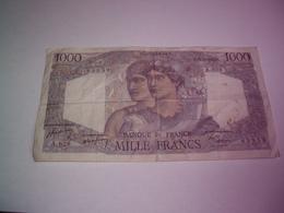 France - Billet De 1000 Francs Type Minerve & Hercule - 15 Décembre 1949 -port Gratuit - 1871-1952 Antichi Franchi Circolanti Nel XX Secolo