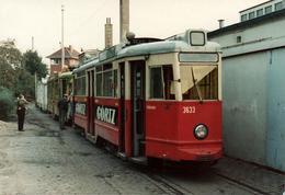 Photo Couleur Originale Train & Tramway Gortz Engang 3633 - Betriebshof Nedderfeld En 1978 - Trains