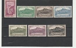 REUNION**LUXE N° 163/174 - Réunion (1852-1975)