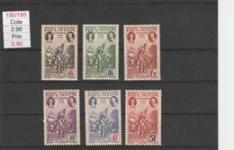 REUNION**LUXE N° 180/185 - Réunion (1852-1975)