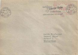 Lokaler Brief  Winterthur  (Freistempel)            1959 - Suisse