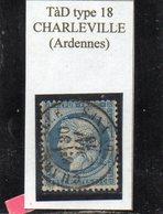 Ardennes - N°60C Obl TàD Type 18 Charleville - 1871-1875 Cérès