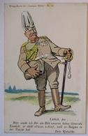 Belgien Lüttich General Emmich Hat Belgien In Der Tasche, Lustige Blätter (8126) - Weltkrieg 1914-18