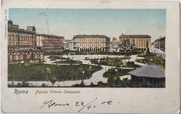 V 72402 - Roma - Piazza Vittorio Emanuele - Piazze