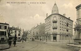 CPA - France - (42) Loire - Saint-Chamond - Avenue De La Gare - Saint Chamond
