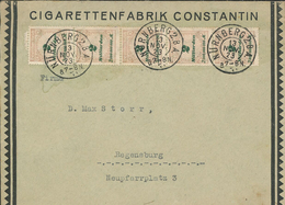Cigaretten-Fabrik Constantin - Nürnberg 13.11.1923 - 10 Milliarden - Deutschland