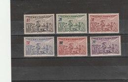 REUNION**LUXE N° PA 18/23 - Réunion (1852-1975)