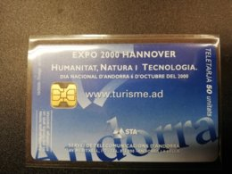 ANDORRA Nice Used    CHIPCARD      ** 381*** - Andorra