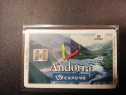 ANDORRA Nice Used    CHIPCARD      ** 382*** - Andorra