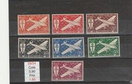REUNION**LUXE N° PA 28/34 COTE 5.90 - Réunion (1852-1975)