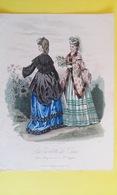 CONFECTION LINGERIE ROBE LA TOILETTE DE PARIS GRAVURE DE MODE - Vieux Papiers