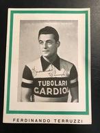 Ferdinando Terruzzi Italy Tubolari Gardiol Milano    Radfahrer Radrennen Radsport  Cycling Velo Wielrennen - Cyclisme