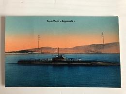 Ak Sous Marin Argonaute - Materiale