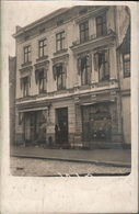 ! Alte Foto Ansichtskarte Rendsburg, Geschäfte, Schleswig-Holstein, 1908 - Rendsburg