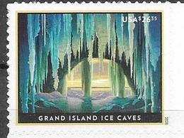 USA, 2020, MNH, DEFINITIVES,CAVES, GRAND ISLAND ICE CAVES,  1v - Other
