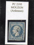 Ardennes - N°14A Obl PC 2195 Mouzon - 1853-1860 Napoléon III