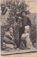 35 : ROTHENEUF : Les Rochers Sculptés M. Et Mme Rotheneur - Vue Prise De La Maison De L'ermite ( Animation - Ermite ) - Rotheneuf
