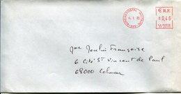 (vrac 26) Enveloppe Affranchissement Mécanique BPI 665 4.1.2003 - Cachets Militaires A Partir De 1900 (hors Guerres)