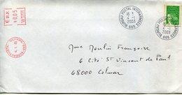(vrac 24) Enveloppe CAD Manuel Et Complément Affranchissement Mécanique BPI 665 4.1.2003 - Bolli Militari A Partire Dal 1940 (fuori Dal Periodo Di Guerra)