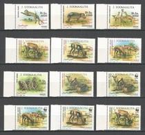 SOMALIA - MNH - Animals - Wild Animals - WWF - 1992 - Autres