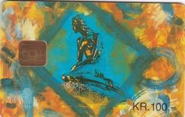 Denmark, DD 029, The Little Mermaid, Only 3000 Issued, 2 Scans. - Danemark