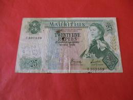 Iles Maurice , 25 Rupees 1967 - Maurice