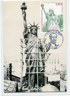 (vrac 28) Carte 1er Jour A. Bartholdi 21.02.2004 - FDC