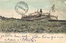 Pays Div Ref X60- Uruguay - Montevideo - Fortaleza Del Cerro -/ Timbre Décollé -/ Stamp Out - - Uruguay