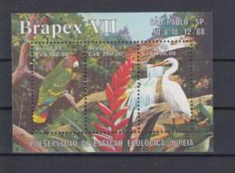 Brasilien Michel Cat.No. Mnh/** Sheet 76 Birds - Blocchi & Foglietti