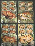 AITUTAKI - MNH - Animals - Marine Life - Crabs - WWF - Mundo Aquatico