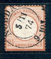 Deutsches Reich 1872/1874, Michel-Nr. 21 O, NOLDAU - Deutschland