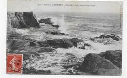 ENVIRONS DE LORIENT EN 1909 - N° 3476 - COTE DE ST JUDE PRES LE FORT BLOQUE - CPA VOYAGEE - Lorient