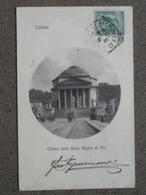 TORINO  -  CHIESA GRAN MADRE DI DIO   -   1910  -  FP   -     - BELLISSIMA - - Italia
