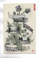 54 - Souvenir De XEUILLEY - 3 Vues Et Chardon - Other Municipalities