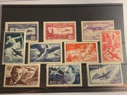 Francia Nº 5/6, 7, 16/19, 21/23. Año 1930/48. - 1927-1959 Nuovi