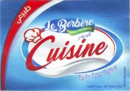 """Algérie - 1 étiquette De Fromage """"Le Berbère"""". - Fromage"""