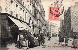 PARIS - Rue Des Envierges Prise De La Rue Piat - Arrondissement: 20