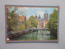 AMSTERDAM HOLLAND OUDEZIJDS VOORBURGWAL  CANAUX ANIMEES  VOYAGEE 1988 - Amsterdam