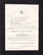 BRUXELLES WOLUWE-SAINT-LAMBERT Artiste Peintre Victor GILSOUL 1867-1939 Famille STIERS MORRIS BRIERS DECHAMPS - Décès