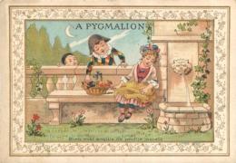 CHROMO PYGMALION GRANDS MAGASINS DE NOUVEAUTES PARIS LITH SICARD - Sonstige