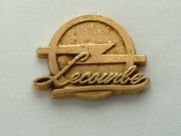 PIN'S OPEL LECOURBE - Opel