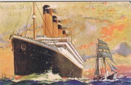 Reino Unido Inglaterra  - Carte Postal Titanic  -cópia -  2 Scaners - Reino Unido