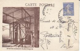 Argiles De Saint-Loup-de-Naud Par Longueville ,le Monte-charge électrique ,1930 , 2 Scans - France
