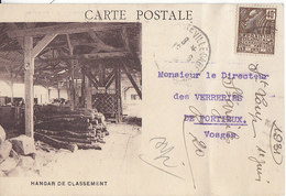 Argiles De Saint-Loup-de-Naud Par Longueville ,le Hangar De Classement ,1931 , 2 Scans - Frankrijk