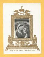 IMAGE PIEUSE SANTINO DORATA BUON CONCILI BON CONSEIL DOREE DORATA TCB - Images Religieuses