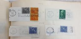 Portugal 1956 1957 Used Cancel Cancellation Postmark - Annullamenti Meccanici (pubblicitari)