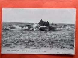 CPA (62) Wimereux.Bateau De Sauvetage En Pleine Mer.  (N.1235) - France