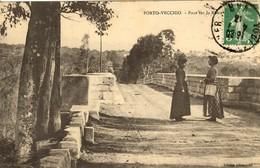 CORSE - PORTO-VECCHIO - Rencontre Sur La Route De BONIFACIO - 1913 - France