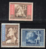 Y2239 - TERZO REICH 1942 , Unificato N. 746A/C *  Nuovo Linguella (M2200) 19 OKT 1942 - Deutschland